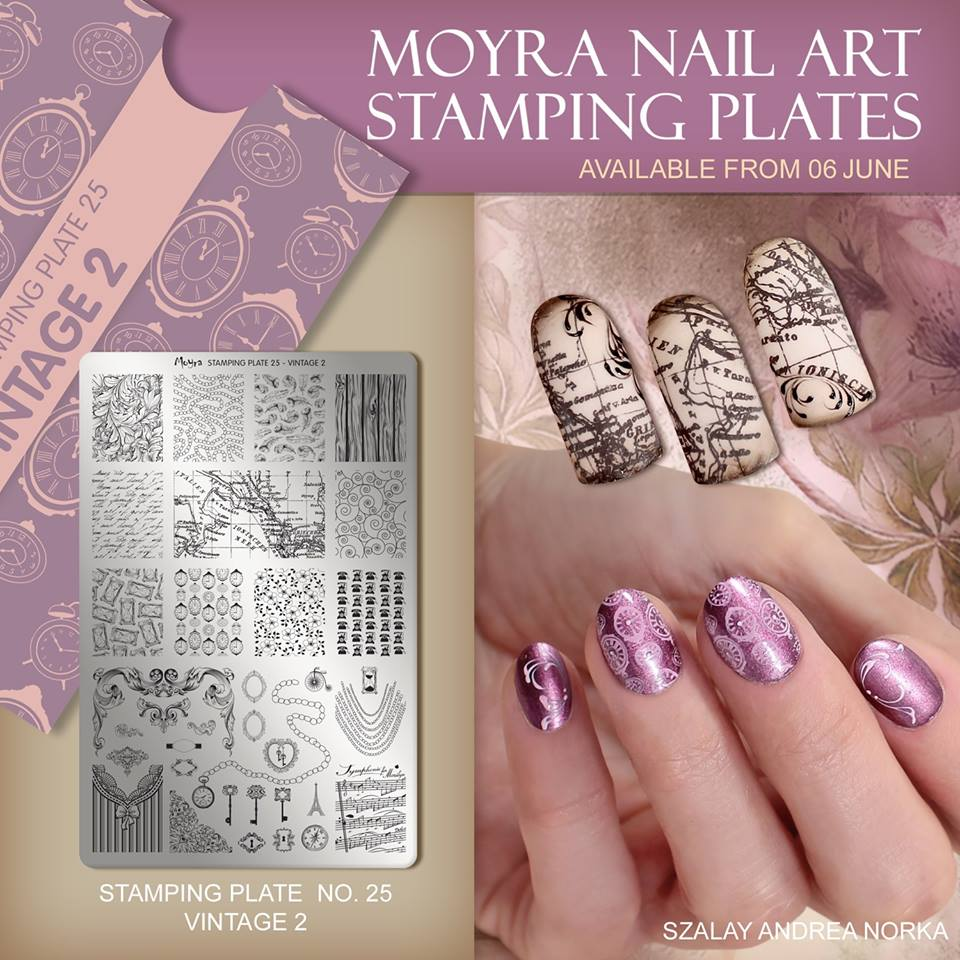 Beautometry S Collection Of Moyra Stamping Plates Here And While Your There Don T Forget To Pick Up Some Hit The Bottle Polishes As They