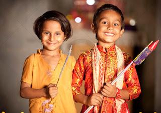 Happy Diwali 2016 images child face 2