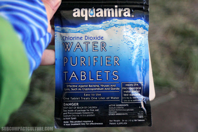 Chlorine Dioxide Water Purifiation Tablets