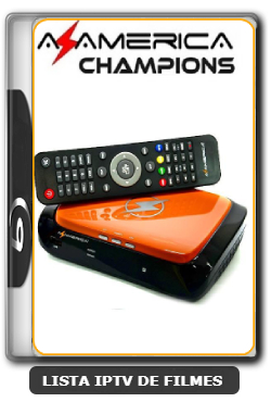 Azamerica Champions HD Nova Atualização Melhorias no sistema IKS e SKS 61w, 63w, 67w e 107w V1.42 - 09-06-2020