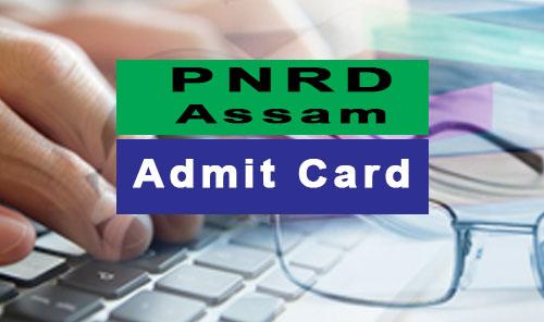 pnrd assam admit card 2017