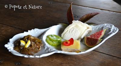 Chutney de tomates vertes, citron et gingembre © Popote et Nature