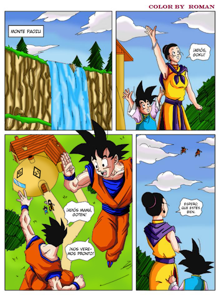 Dragon Ball El Retorno De Los Enemigos Fan Arts Dibujos Y Coloreados