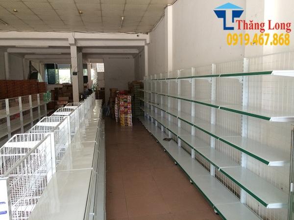 Bật mý địa chỉ lắp đặt giá kệ siêu thị tại Lào Cai