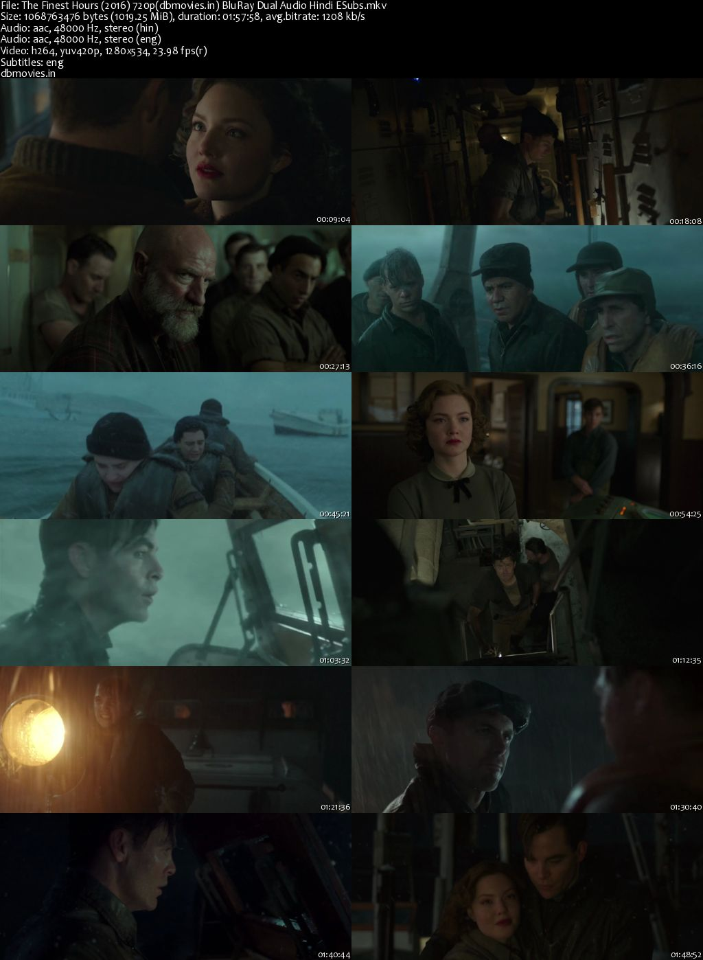 screen shot The Finest Hours 2016 Full Movie Download Dual Audio Hindi 720p