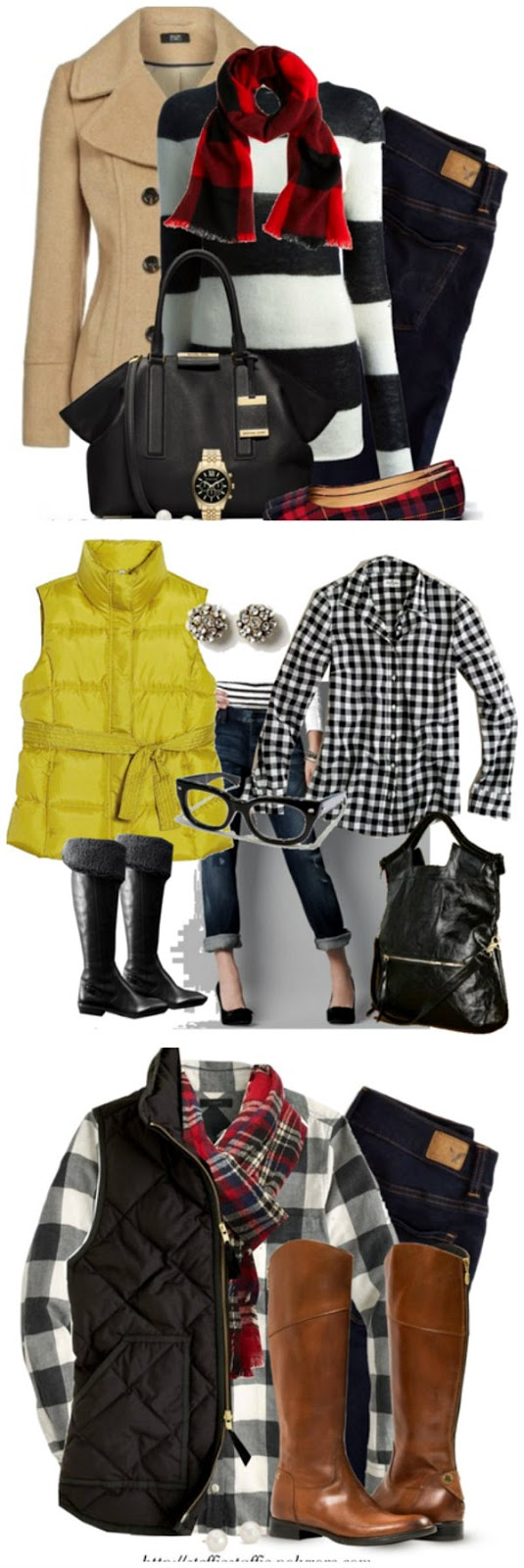 Plaid Outfit Ideas on Crafting in the Rain... Click through for sources