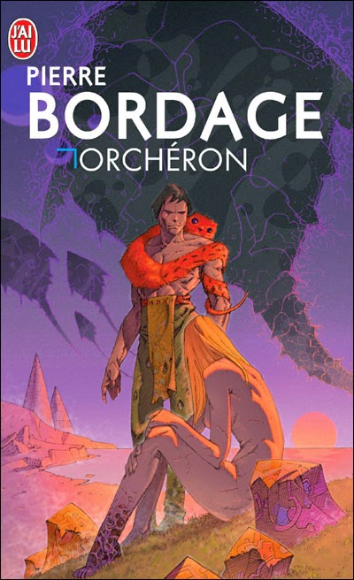"""Orchéron"" - Pierre Bordage - science fiction space opera"