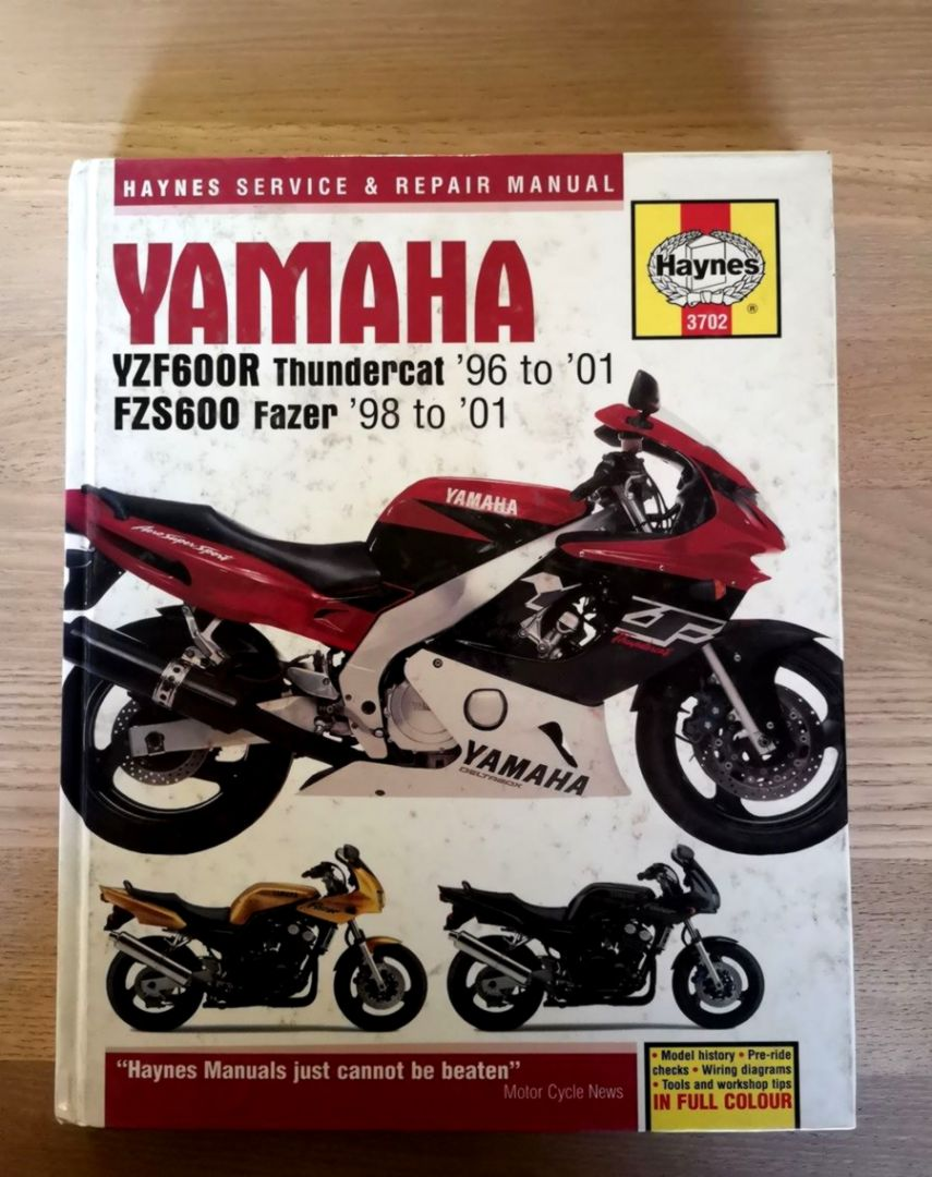 yzf 600 manual ebook