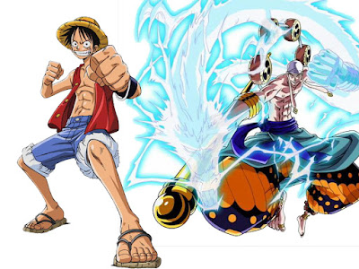 Luffy vs Enel