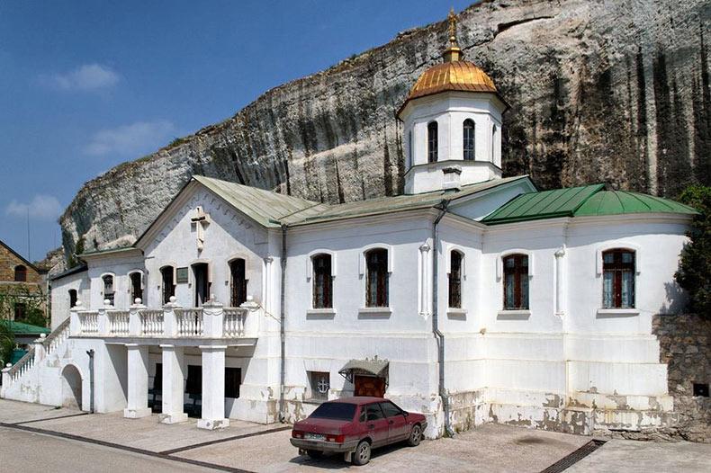 El Monasterio de San Clemente de Inkerman | Rusia, Ucrania