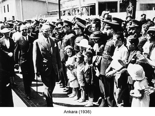 Atatürk Ankara 1936 Fotoğraf