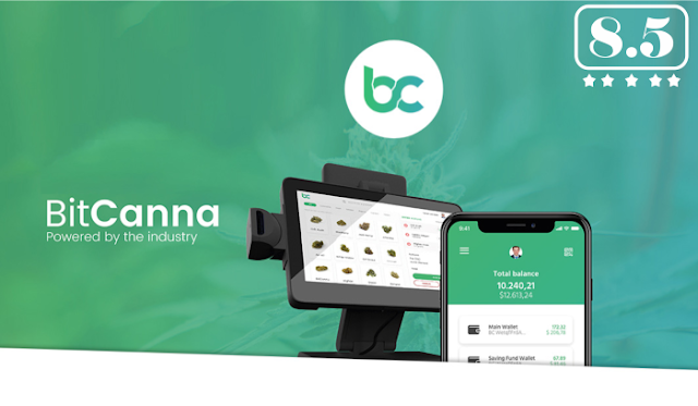 BitCanna (BCNA) ICO Review, Rating, Token Price
