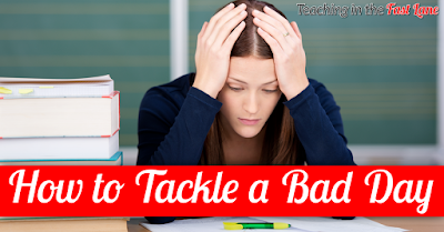 Are you having a bad day? Check out these 9 ideas for tackling your bad day and moving forward!
