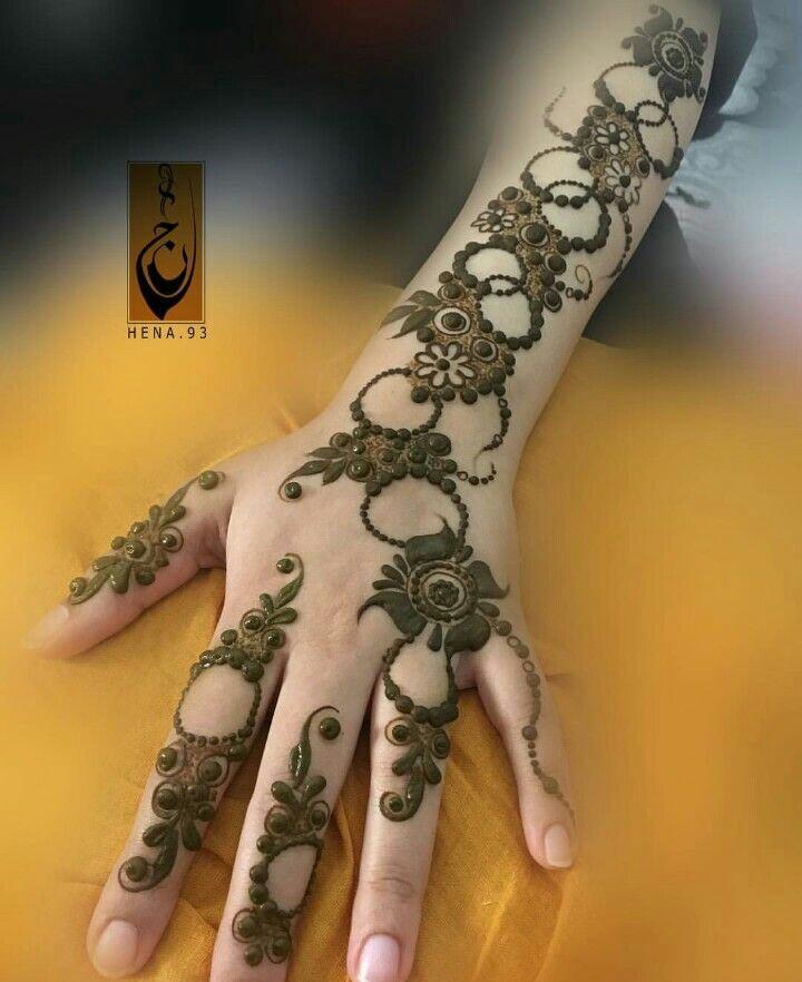 modern simple arabic mehndi designs for hands