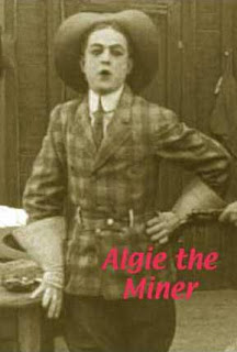 Algie the miner, film