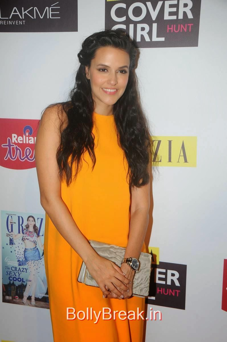 Neha Dhupia Hot Images From Grazia Cover Girl Hunt Grand -7209