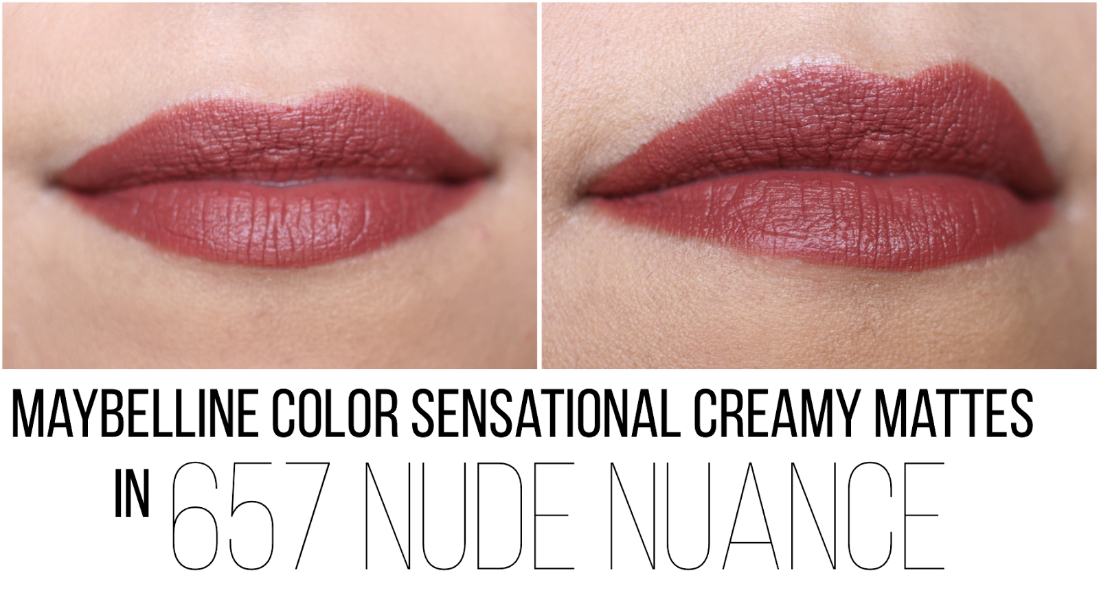 Stars Maybelline Nude Swatches HD