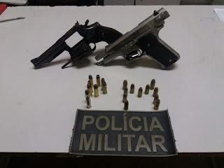 9º BPM retira das ruas mais duas armas de fogo