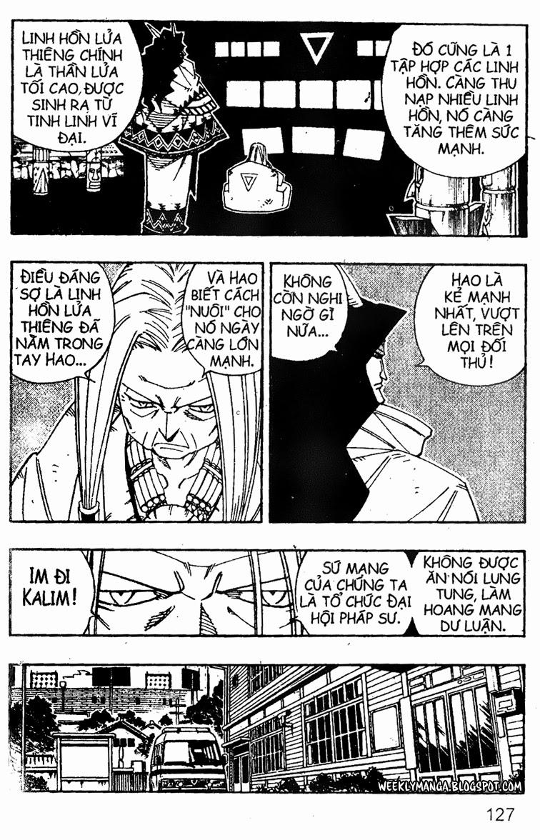 Shaman King [Vua pháp thuật] chap 141 trang 12