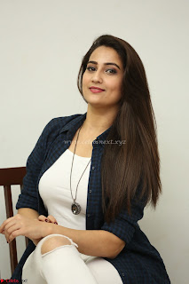 Manjusha in White Tight T Shirt and Black Jacket ~ Exclusive Celebrities Galleries 021
