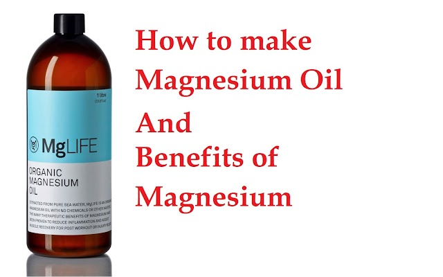 How to make Magnesium Oil | Benefits of Magnesium