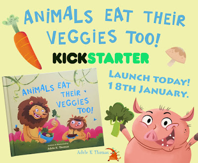 Kickstarter Launch: Animals Eat Their Veggies Too!