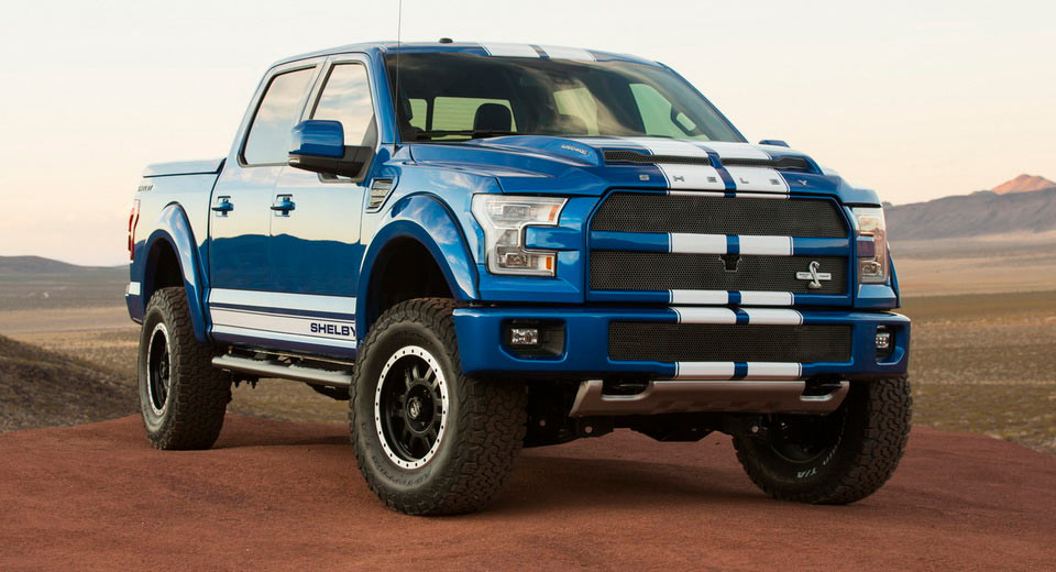 2017 Shelby Super Snake >> Looking For A 750HP Truck In The UK? Buy A Shelby F-150 ...