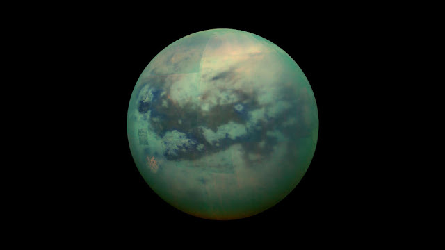 di Satelit Saturnus, Titan terdapat pendukung kehidupan