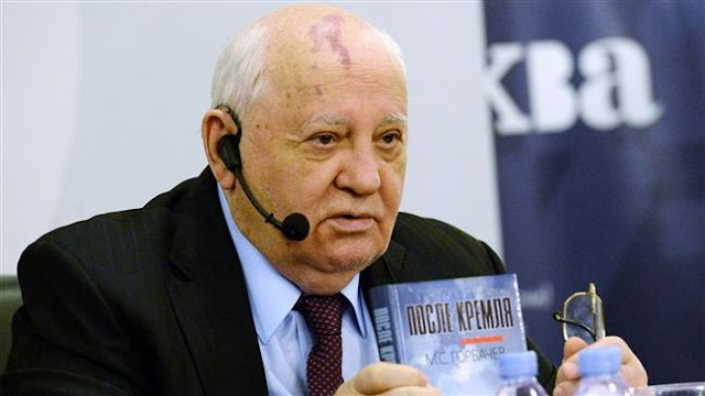 Mikhail Gorbachev criticizes US President Barack Obama's 'misguided policy' toward Russia