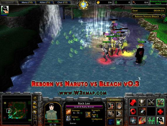 Reborn vs Naruto vs Bleach 0 3a