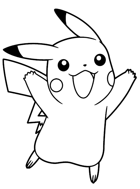 Pikachu Coloring Pagesprintablecoloring Pages