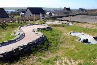 Crazy Golf in Burray, Orkney