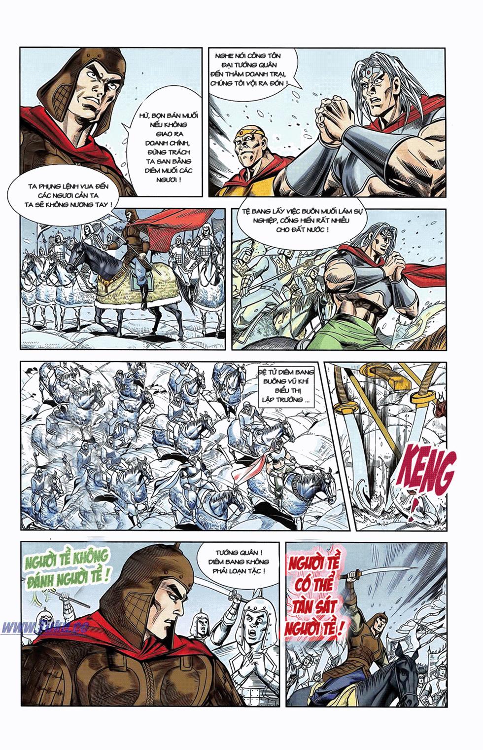 Tần Vương Doanh Chính chapter 7 trang 24