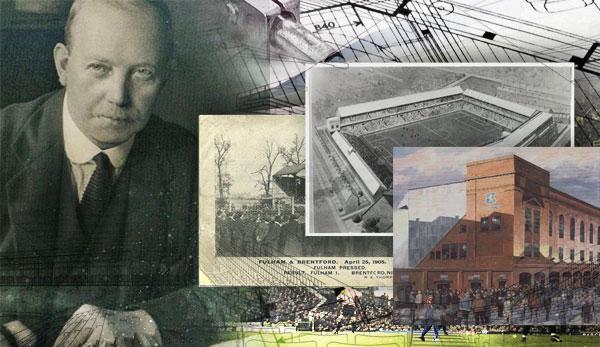 archibald leitch storia stadi inghilterra architettura