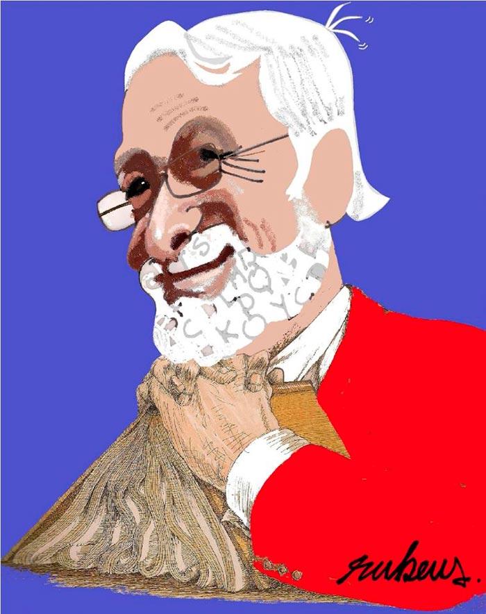 Jorge Consuegra por Rubens