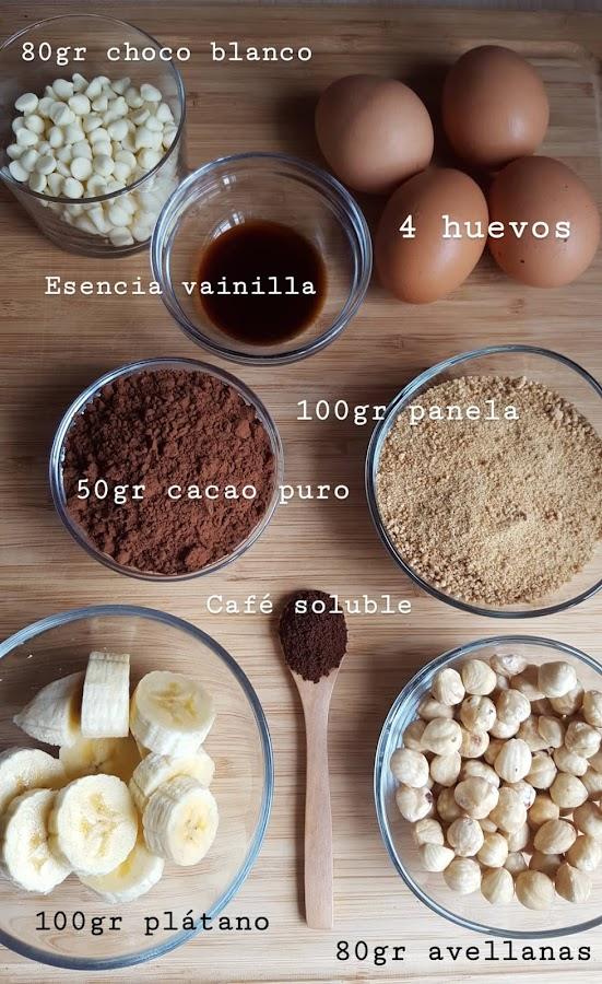 Brownie saludable Bulalaica