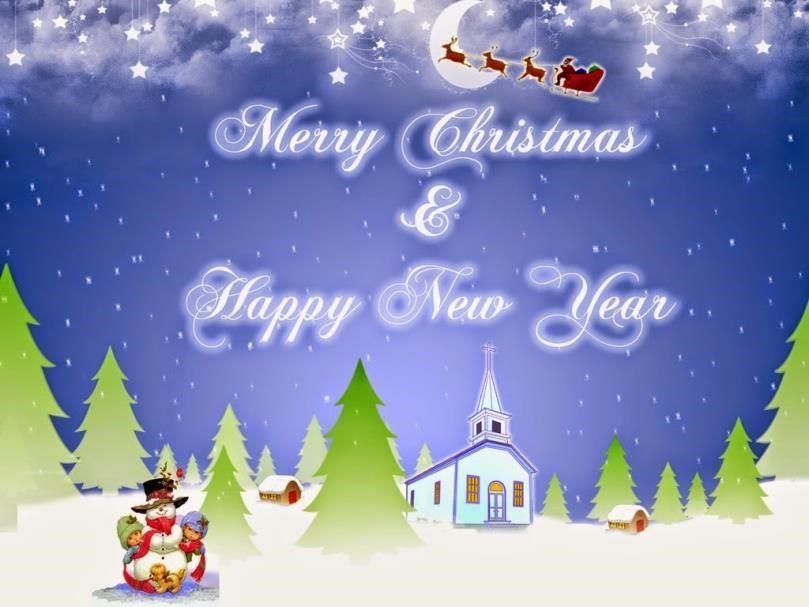 gambar tahun baru animasi