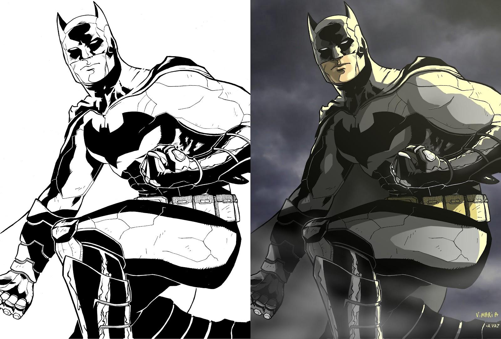 Andre S Blog Batman Couleurs