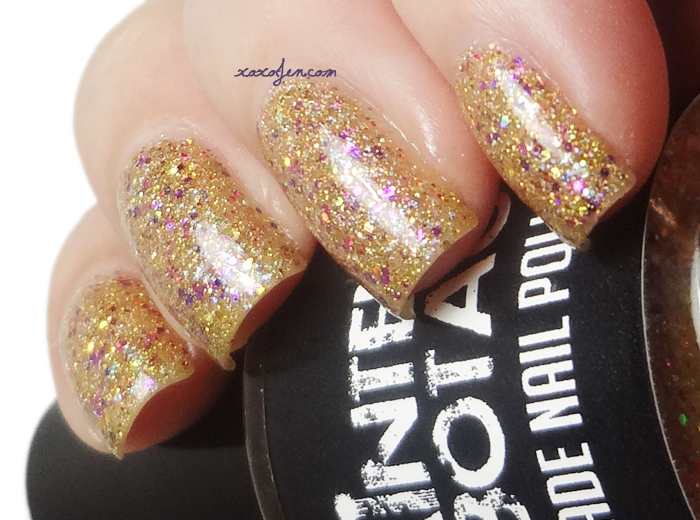 xoxoJen's swatch of Painted Sabotage: Caution I Stop for Shinies