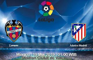 Prediksi Levante Vs Atletico Madrid 19 Mei 2019