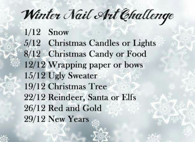 Winter Nail Art Challenge 2016