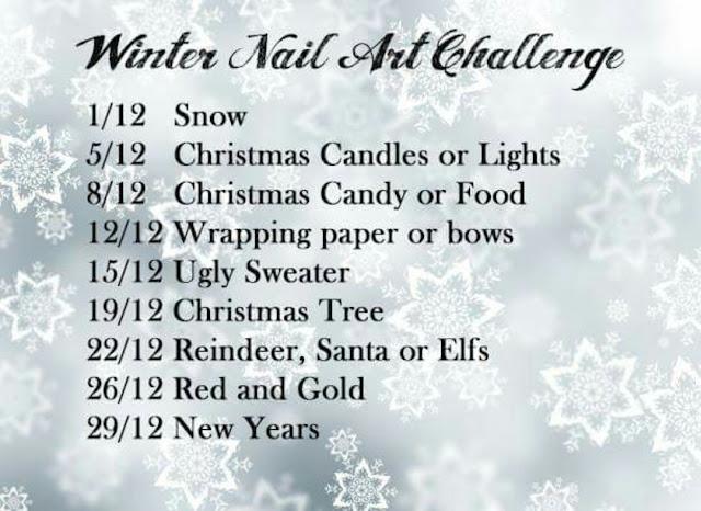 Winter Nail Art Challenge 2016