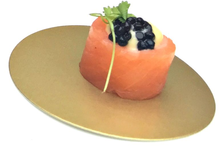 smoked-salmon-blini