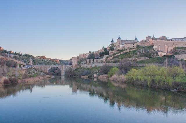 Puente de Alcantara, em Toledo, na Espanha