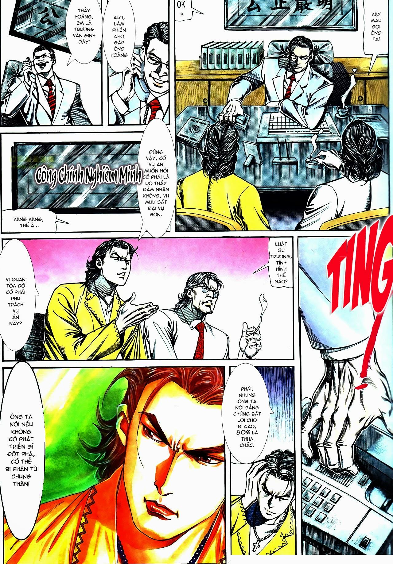 Người Trong Giang Hồ chapter 119: tù chung thân trang 13