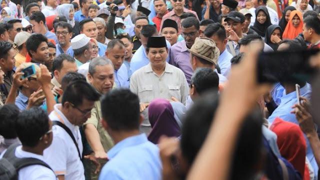 Prabowo ke Lombok, Warga Korban Gempa Serukan 2019 PAS Menang