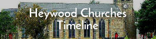 A timeline of the churches of Heywood, Lancashire