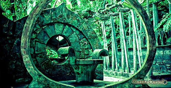 O jardim surreal escondido na floresta tropical: Las Pozas