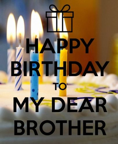 Happy Birthday Wishes For Brother Funny Images From Sister