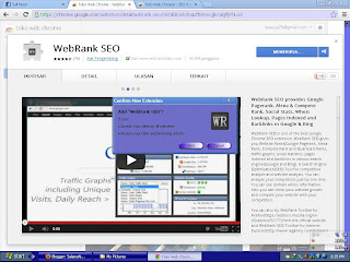 Cara Pasang Webrank Seo Toolbar Google Chrome